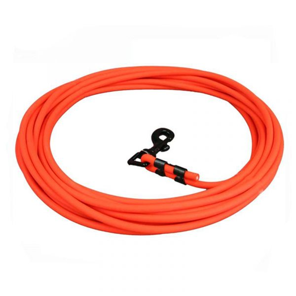 Round Orange Hunting Training Dog Leash