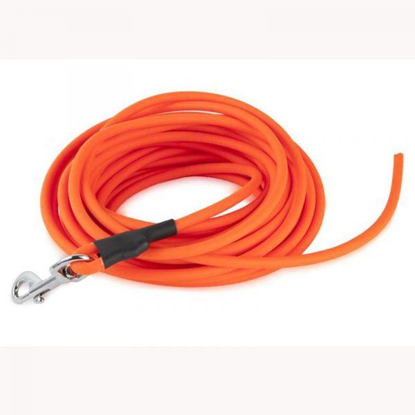 Round Orange Hunting Training Dog Leash