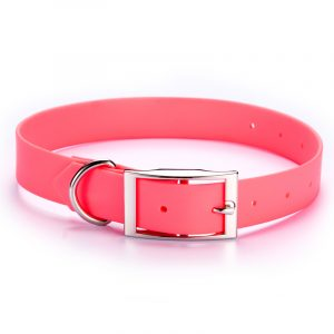 Feellike Leather PVC Coated Dog Collar