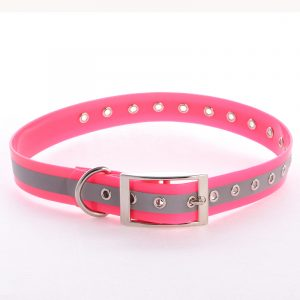 Hot Sale,Reflective TPU Dog Collar,with Revets