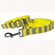 High Visible Safety Reflective TPU Dog Collar and Leash