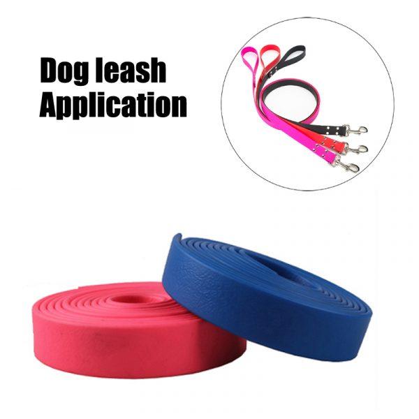 pvc coated webbing for dog leash