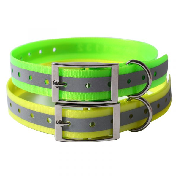 tpu reflective dog collar