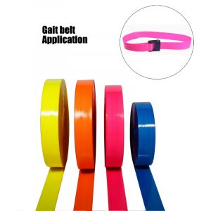Eco-friendly TPU coated nylon webbing for medical gait belt