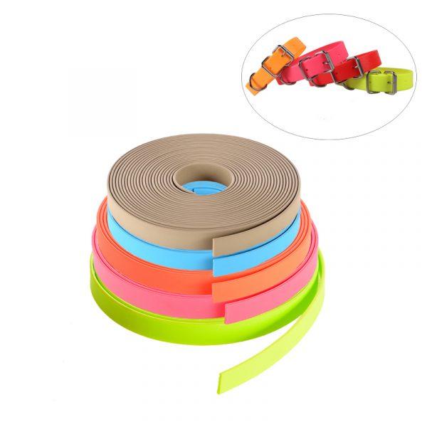 Waterproof PVC Dog Collar Material Coated Webbing