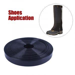 Shoes Application TPU Plastic Coated Webbing