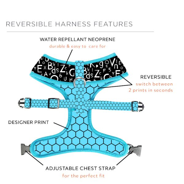 revesible dog harness 2
