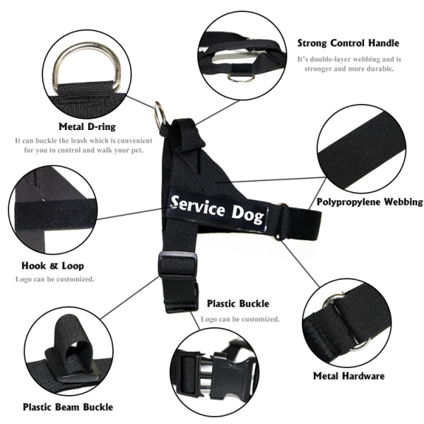 K9 dog harness (3)