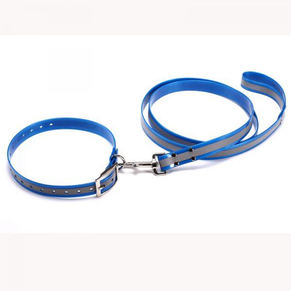 Reflective TPU Dog Collar and Lead