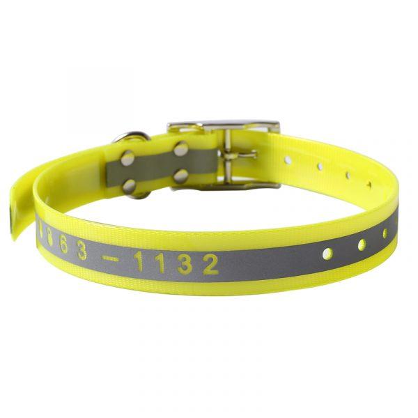 Reflective TPU Dog Hunting Collar with Custom Logo
