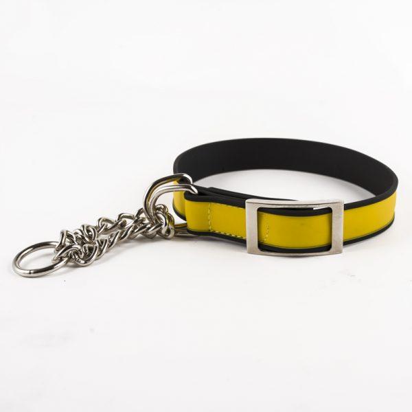 Chain dog training collar