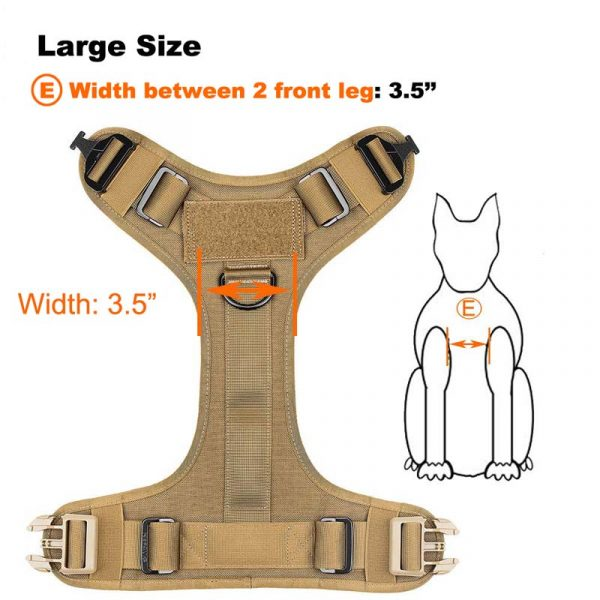 tactical dog harness (2)